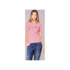 T-shirty z krótkim rękawem Only  KELLIE. Czerwone t-shirty damskie marki ONLY, m. Za 63,20 zł.