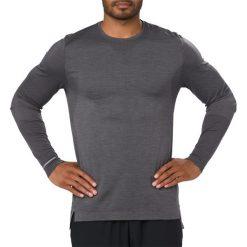 Koszulki do fitnessu męskie: KOSZULKA Asics Seamless Long Sleeve M Ciemno-Szara