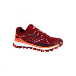 Buty do biegania KIPRUN TRAIL MT damskie. Czerwone buty do biegania damskie marki KALENJI, z gumy. W wyprzedaży za 219,99 zł.
