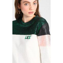 Bluzy damskie: Lee COLOUR BLOCK  Bluza evergreen
