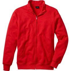Bluza rozpinana bonprix czerwony. Czerwone bejsbolówki męskie bonprix, m, z dresówki. Za 49,99 zł.