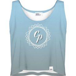 Colour Pleasure Koszulka damska CP-035 292 niebieska r. XXXL-XXXXL. Niebieskie bluzki damskie Colour pleasure. Za 64,14 zł.