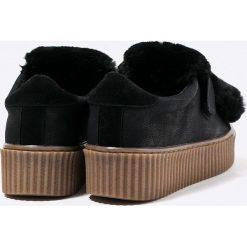Gioseppo - Buty. Czarne buty sportowe damskie Gioseppo, z materiału. W wyprzedaży za 129,90 zł.