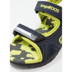 KangaROOS SINCLAIR II Sandały trekkingowe dark navy/lime. Niebieskie sandały chłopięce marki KangaROOS. Za 129,00 zł.