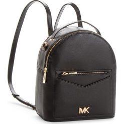 Plecak MICHAEL MICHAEL KORS - Jessa 30T8GEVB5L Black. Czarne plecaki damskie MICHAEL Michael Kors, ze skóry, klasyczne. Za 1199,00 zł.