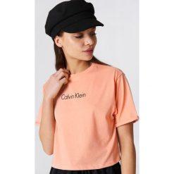 Calvin Klein Miękki t-shirt - Pink. Różowe t-shirty damskie Calvin Klein. Za 202,95 zł.