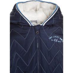 Eat ants by Sanetta Kurtka zimowa deep blue. Niebieskie kurtki chłopięce zimowe marki Eat ants by Sanetta, z bawełny. W wyprzedaży za 155,35 zł.
