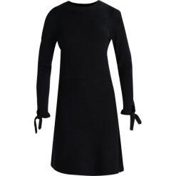 Sukienki: Dorothy Perkins LONG SLEEVE TIE Sukienka dzianinowa black