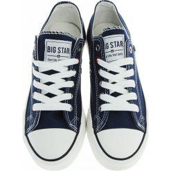 Big Star - Tenisówki. Czarne tenisówki damskie marki BIG STAR, z gumy. Za 79,90 zł.