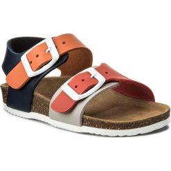 Sandały GARVALIN - 172346 H-Multicolor. Brązowe sandały męskie skórzane marki Garvalin. Za 139,00 zł.