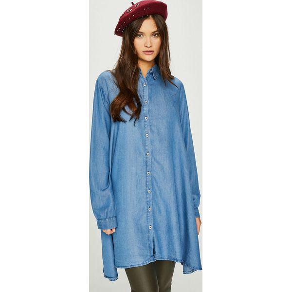 6b095edeee Niebieskie bluzki damskie z długim rękawem - Promocja. Nawet -70%! -  Kolekcja wiosna 2019 - myBaze.com