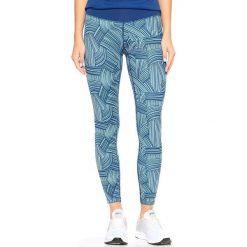 Bryczesy damskie: Asics Spodnie damskie FuzeX 7/8 Tight Asics Brush Kingfisher niebieskie r. L (1299901041)