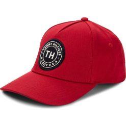 Czapka męska TOMMY HILFIGER - Th Badge Cap AM0AM03325 614. Czerwone czapki damskie marki TOMMY HILFIGER, z bawełny. Za 179,00 zł.