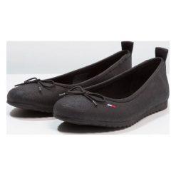 Baleriny damskie lakierowane: Tommy Jeans SPORTY Baleriny black