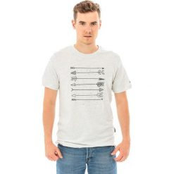 Hi-tec Koszulka męska Skote Light Grey Melange/dark Grey r. XL. Szare koszulki sportowe męskie Hi-tec, m. Za 32,62 zł.