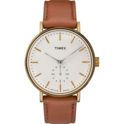 Timex - Zegarek TW2R37900. Czarne zegarki męskie marki Fossil, szklane. Za 399,90 zł.