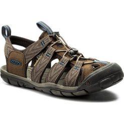 Keen Sandały męskie Clearwater Cnx Dark Earth/Blue Opal r. 46 (1018495). Niebieskie buty sportowe męskie marki Keen. Za 305,47 zł.