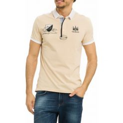 Koszulki polo: Koszulka polo w kolorze kremowym