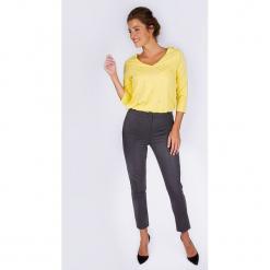"""Spodnie """"Boyish"""" w kolorze ciemnoszarym. Szare spodnie z wysokim stanem Scottage. W wyprzedaży za 108,95 zł."""