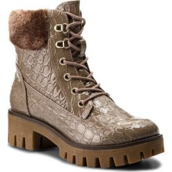 Botki TAMARIS - 1-26714-39 Pepper Pat.Str 429. Szare buty zimowe damskie marki Tamaris, z materiału. W wyprzedaży za 169,00 zł.