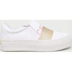 Calvin Klein Jeans - Tenisówki Zelma. Szare tenisówki damskie marki Calvin Klein Jeans, z gumy. Za 399,90 zł.