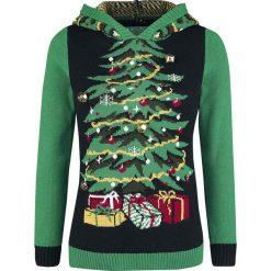 Swetry klasyczne damskie: Ugly Christmas Sweater Weihnachtsbaum Sweter z dzianiny wielokolorowy