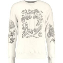 Kardigany męskie: Soulland DAMIAN EMBROIDERY  Sweter off white