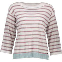 """Sweter """"Cady"""" w kolorze kremowym. Białe swetry oversize damskie Nümph, s. W wyprzedaży za 86,95 zł."""