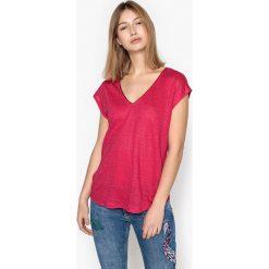 Koszulka Tee shirt TIRALDA. Czerwone bluzki asymetryczne SUD EXPRESS, l. Za 230,96 zł.