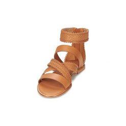 Sandały See by Chloé  SB24191. Brązowe sandały damskie See by Chloé. Za 911,20 zł.