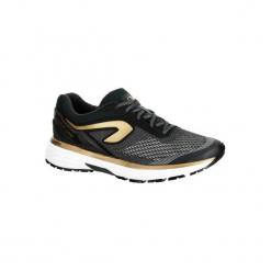 Buty do biegania KIPRUN LONG damskie. Czarne buty do biegania damskie marki Kazar, z nubiku, przed kolano, na wysokim obcasie. Za 249,99 zł.