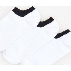 3 pack stopek - Biały. Białe kapcie męskie Reserved. W wyprzedaży za 19,99 zł.
