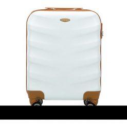 Walizka kabinowa 56-3A-231-88. Białe walizki marki Wittchen, z gumy, małe. Za 159,00 zł.