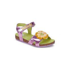 Sandały Dziecko  Lelli Kelly  GARDENIA-2. Fioletowe sandały dziewczęce marki Lelli Kelly. Za 247,20 zł.