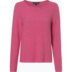 Franco Callegari - Sweter damski, różowy. Zielone swetry klasyczne damskie marki Franco Callegari, z napisami. Za 179,95 zł.