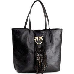 Torebki klasyczne damskie: Torebka PINKO – Ustolare Shopping Piccola 1P2153 Y4KS Black Z99
