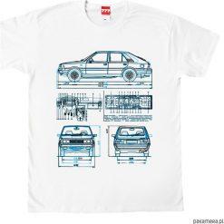 Koszulka POLONEZ FSO tshirt. Czarne t-shirty męskie marki Pakamera, m, z kapturem. Za 77,00 zł.