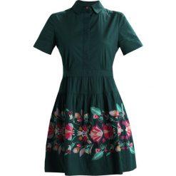 Sukienki hiszpanki: Ivko DRESS FLORAL EMBROIDERY Sukienka letnia forest