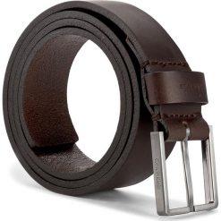 Pasek Męski CALVIN KLEIN - Essential Belt 3.5 K50K503421 85 017. Brązowe paski męskie Calvin Klein, w paski, ze skóry. Za 179,00 zł.