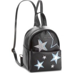 Plecak JENNY FAIRY - RC15285  Czarny. Czarne plecaki damskie Jenny Fairy, ze skóry ekologicznej, klasyczne. Za 99,99 zł.