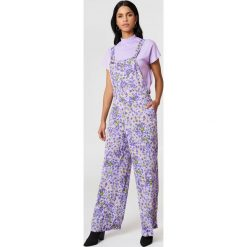 Kombinezony damskie: Twinset Jednoczęściowy kombinezon Salopette – Purple,Multicolor