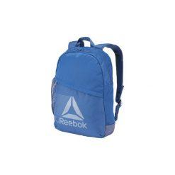 Plecaki Reebok Sport  Pojemny plecak ułatwiający mobilność. Niebieskie plecaki męskie Reebok Sport, sportowe. Za 129,00 zł.