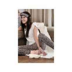 Komplet piżama Fleur. Białe piżamy damskie Enfin, na lato, s, z nadrukiem, z dzianiny. Za 249,00 zł.