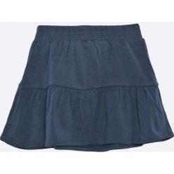 Name it - Spódnica dziecięca 80-104 cm. Szare spódniczki dzianinowe marki Name it, midi, rozkloszowane. W wyprzedaży za 24,90 zł.
