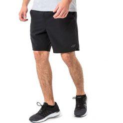 4f Spodenki męskie H4L18-SKMF004 czarne r. XXL. Białe spodenki sportowe męskie marki Adidas, l, z jersey, do piłki nożnej. Za 68,00 zł.
