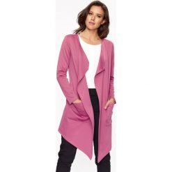 Kardigany damskie: Kardigan w kolorze różowym