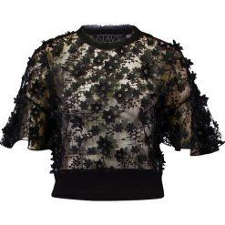 Bluzki asymetryczne: Navy London CRIS Bluzka black