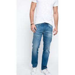 G-Star Raw - Jeansy. Niebieskie jeansy męskie z dziurami marki G-Star RAW. W wyprzedaży za 359,90 zł.