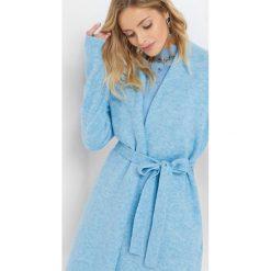 Kardigan z paskiem. Niebieskie kardigany damskie marki Orsay, xs, w paski, z dzianiny. Za 119,99 zł.