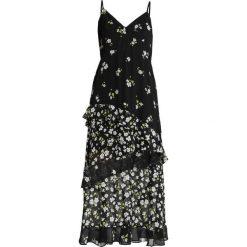 Bardot DITSY FLORAL Długa sukienka black. Czarne długie sukienki marki Bardot, xs, z materiału, z długim rękawem. Za 419,00 zł.